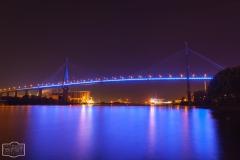 Blue Port 2012 an der Köhlbrandbrücke/Salzgitterkai