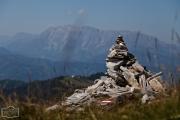 Steinmännchen auf dem Gipfel