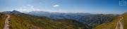 Ausblick vom Gipfelgrat