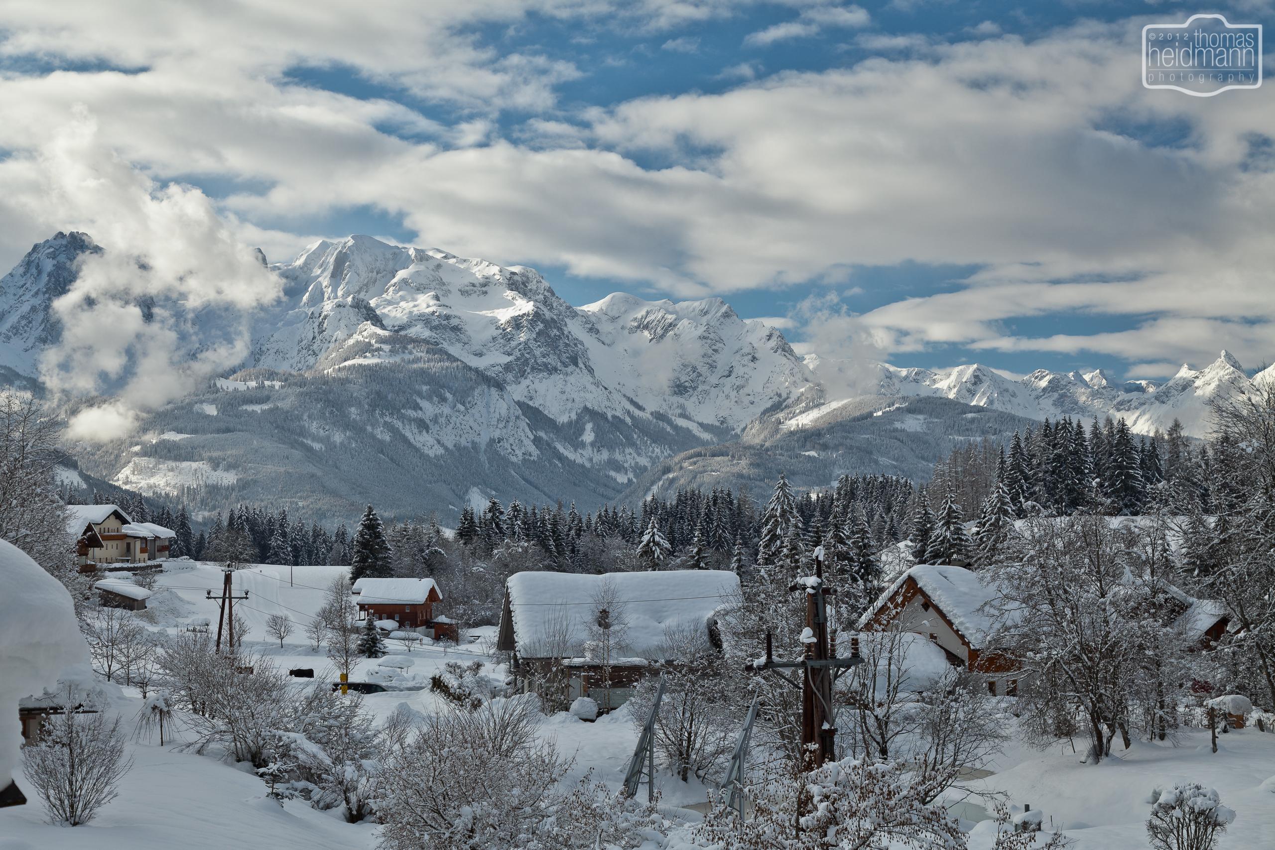 Bergwelt in Werfenweng