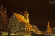 Werfenwenger Kirche bei Nacht