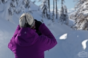 Xenia im Schnee
