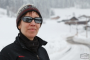 Xenia im Winterurlaub