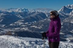Xenia in den Bergen