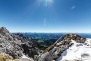 Alpenblick vom Dachsteingletscher