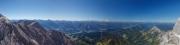 Alpenblick vom Dachstein aus