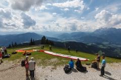 Paragliding auf der Bischlingshöhe