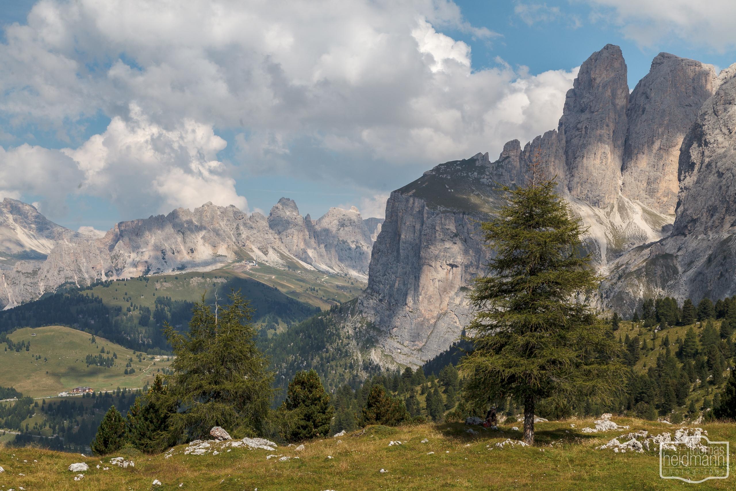 Rundfahrt durch die Dolomiten