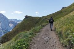 Wanderung zum Marmolada
