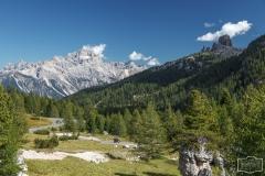 Rundfahrt in den Dolomiten