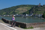 Radtour am Mittelrhein