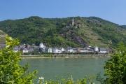 Burg Gutenfels am Mittelrhein