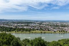 Der Rhein bei Koblenz