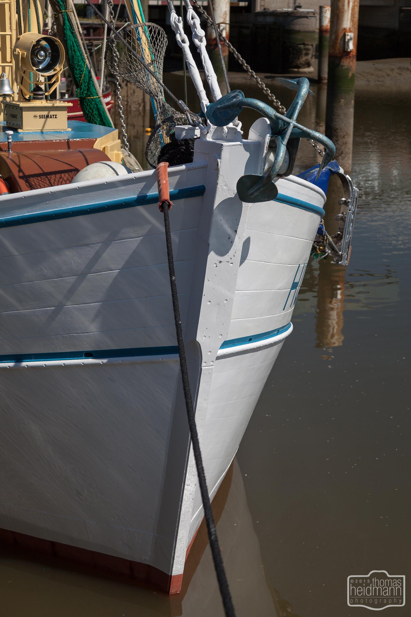 Fischkutter in Husum