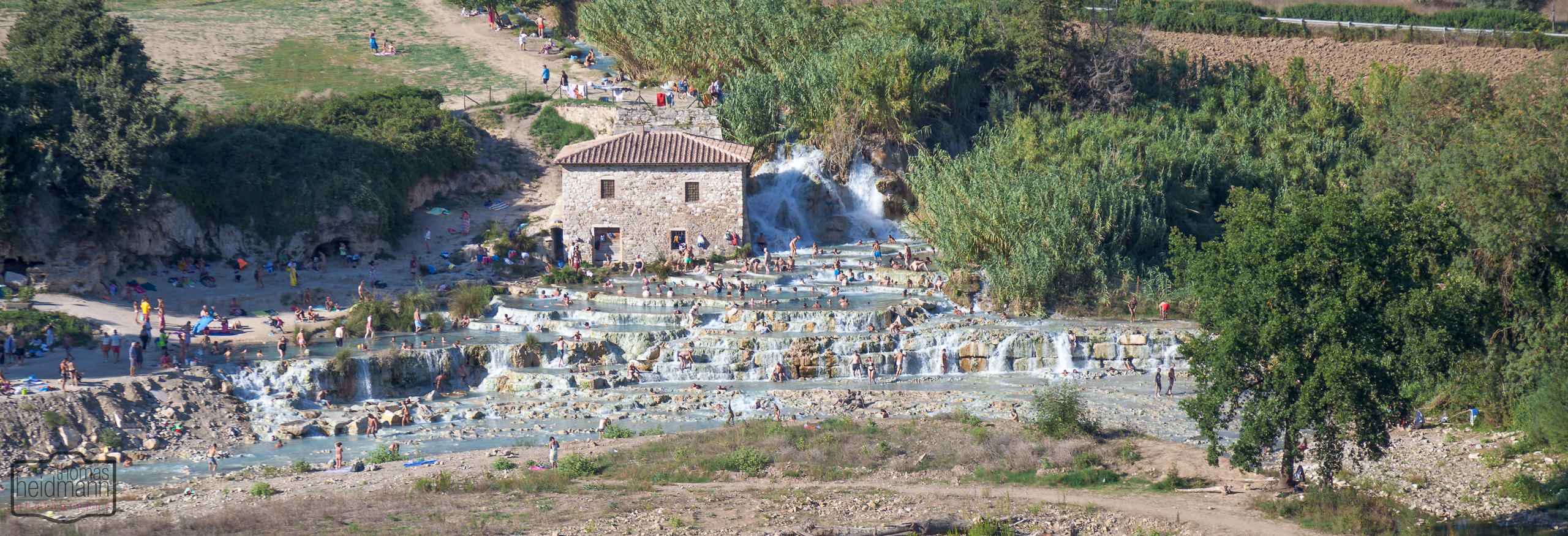 Thermalquellen in Saturnia
