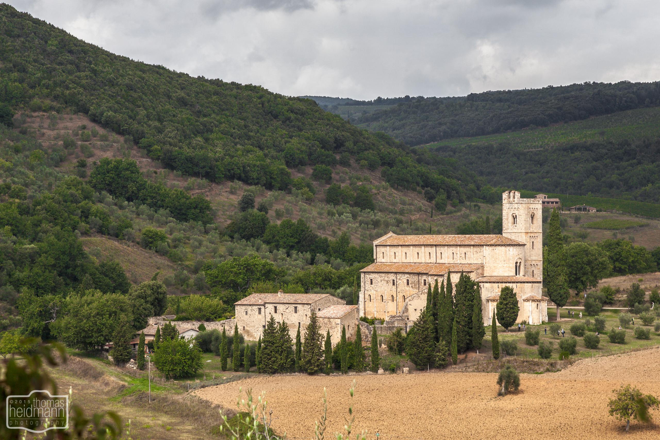 Abbazia di Sant'Abtimo im Val d'Orcia