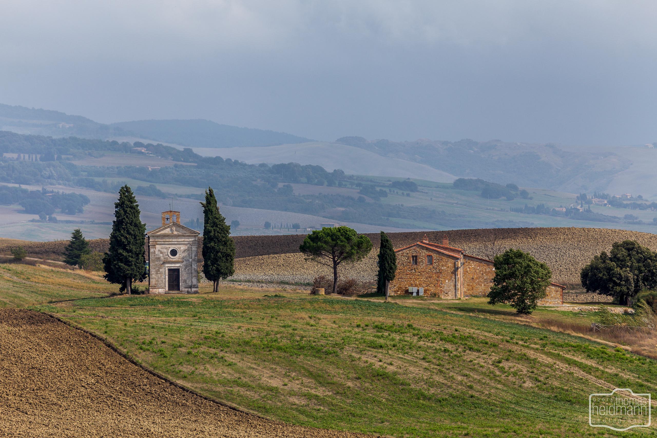 Cappella Della Madonna Di Vitaleta im Val d'Orcia