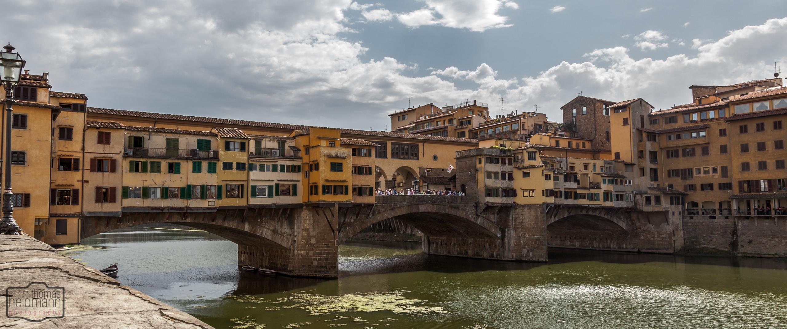 Ponte Vecchio - Brückenhäuser