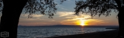 Sonnenuntergang am Lago di Bolsena (Süd-Toskana)