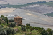 Gegend bei Montalcino im Val d'Orcia