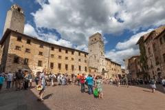 Bummel durch San Gimignano (Toskana)