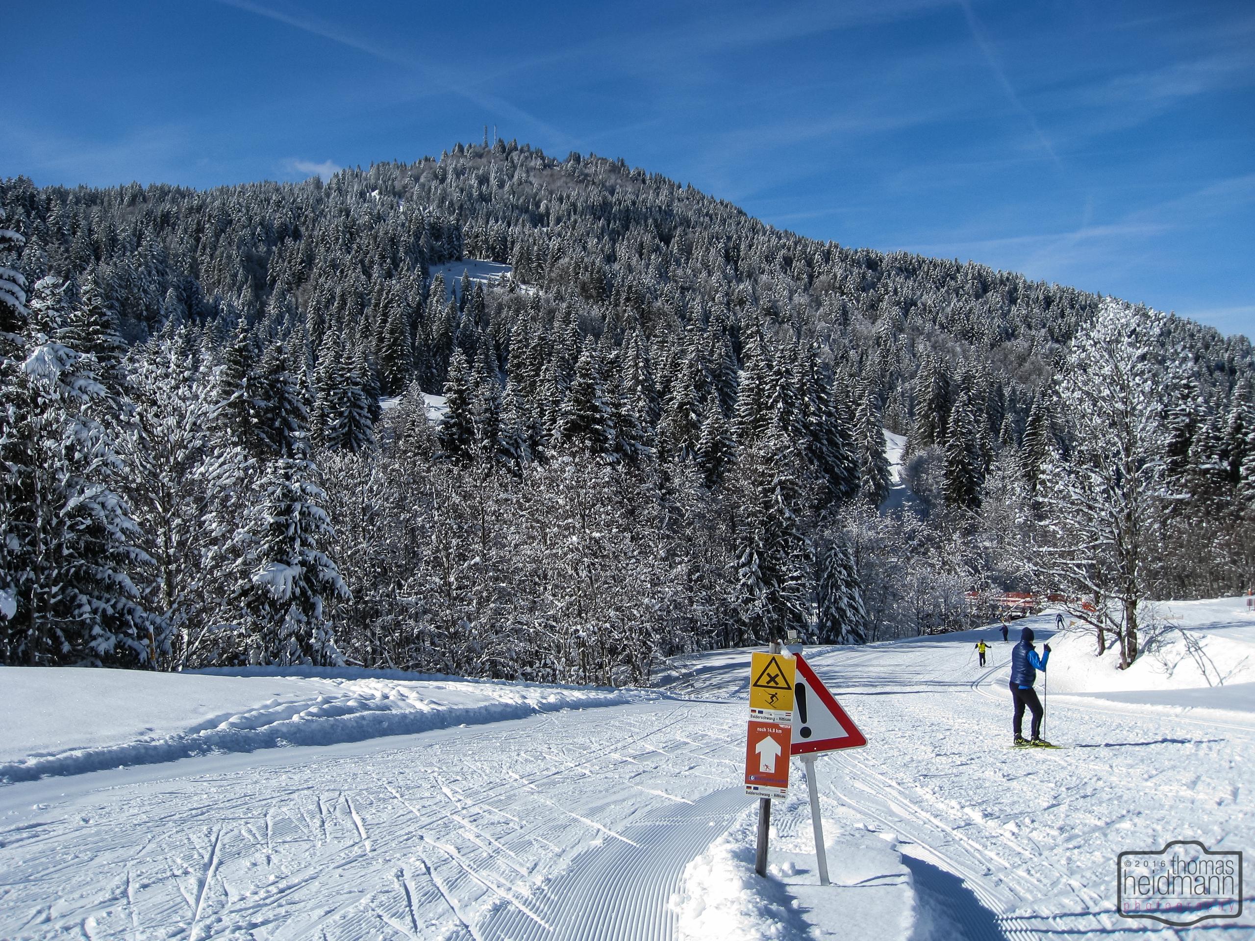 Skatingloipe in Balderschwang