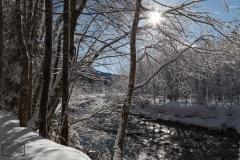 Winter in Balderschwang im Allgäu