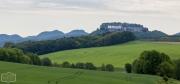 Blick zur Festung Königstein