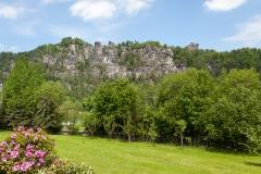 Elbsandsteingebirge bei Rathen