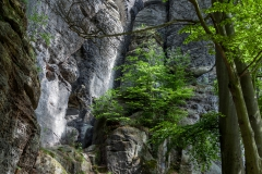 Wanderung zur Bastei im Elbsandsteingebirge
