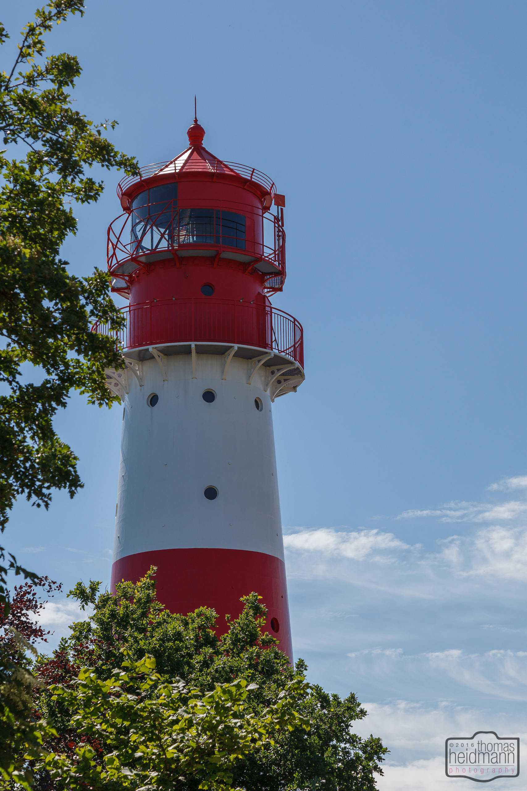 Leuchtturm bei Falshoft an der Ostsee/SHH