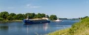 Nord-Ostsee-Kanal (NOK) bei Schacht-Audorf