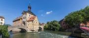 Das schwimmende Rathaus in Bamberg