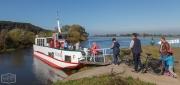 Personenfähre über die Elbe bei Hitzacker