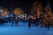 Eislaufen in der Autostadt