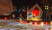 Eisrevue auf dem Weihnachtsmarkt der Autostadt