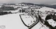 Wohnmobilstellplatz Winterberg OT Neuastenberg im Winter
