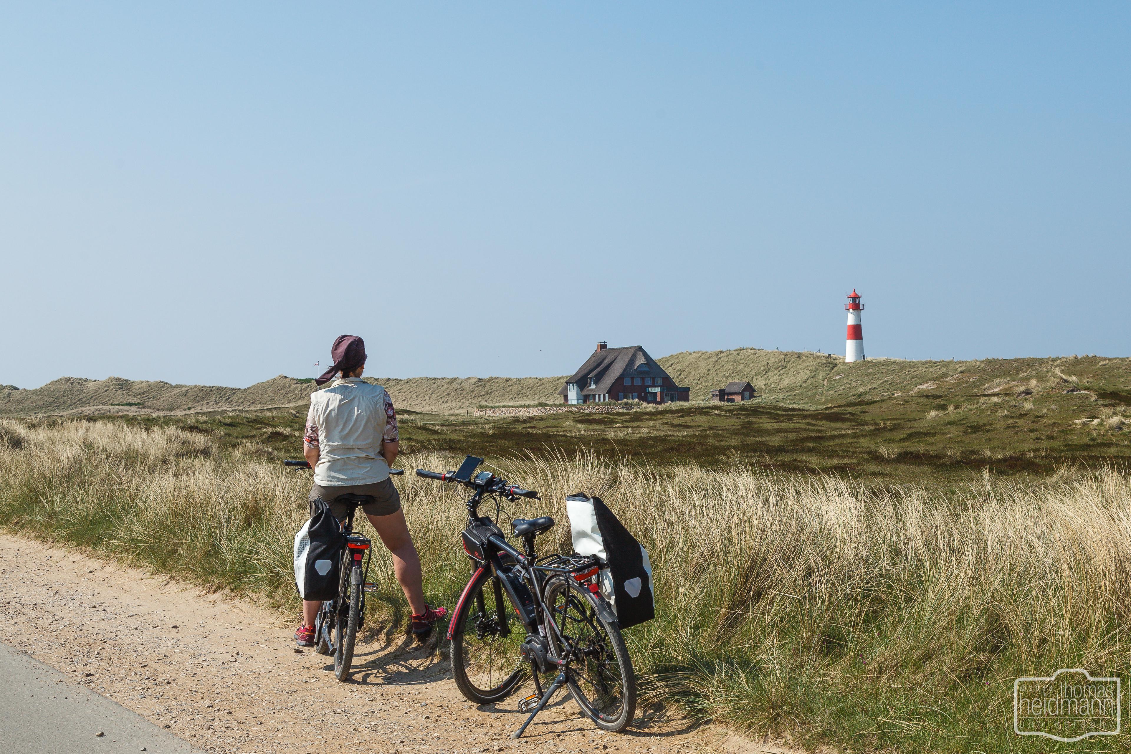 Radtour zum Sylter Ellbogen