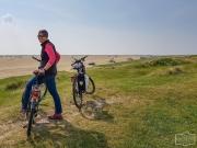Radtour durch die Dünen auf Römö
