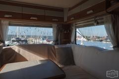 Schöner Ausblick auf die Marina von Struer am Limfjord