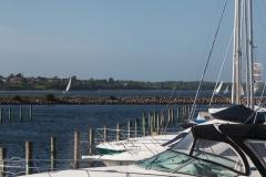 Viel Wind für die Segler in Struer am Limfjord