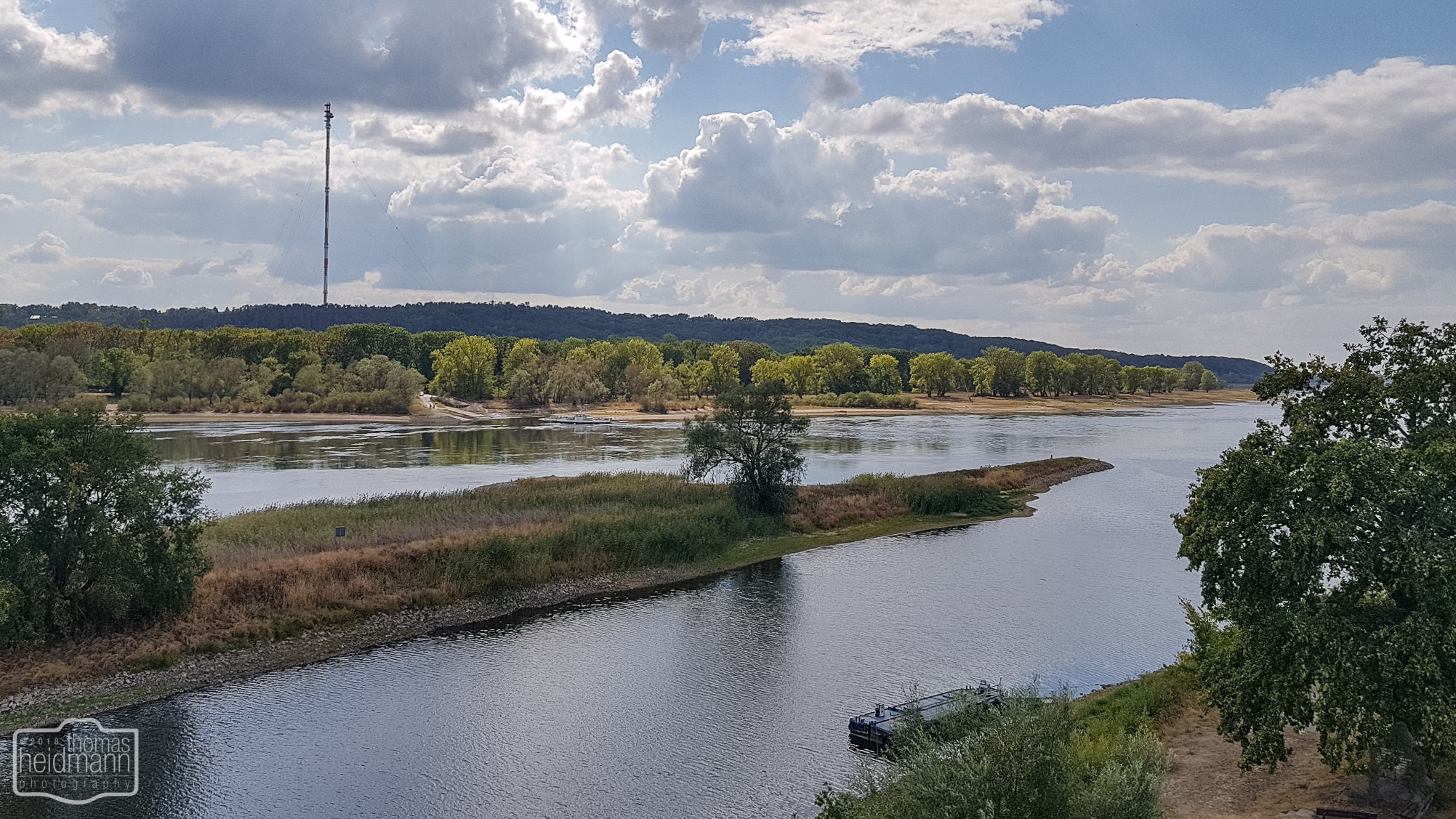 Radtour an der Elbe bei Lenzen am See