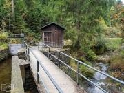 Entlang des Dammgraben - Sperrwerk
