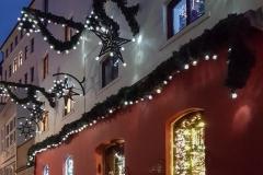 Weihnachtsladen am Schnoorviertel in Bremen