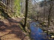 Heinrich-Heine-Weg an der Ilse