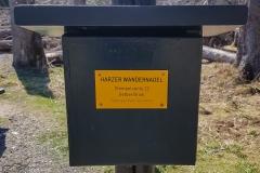 Harzer Wandernadel Nr. 22 Gelber Brink