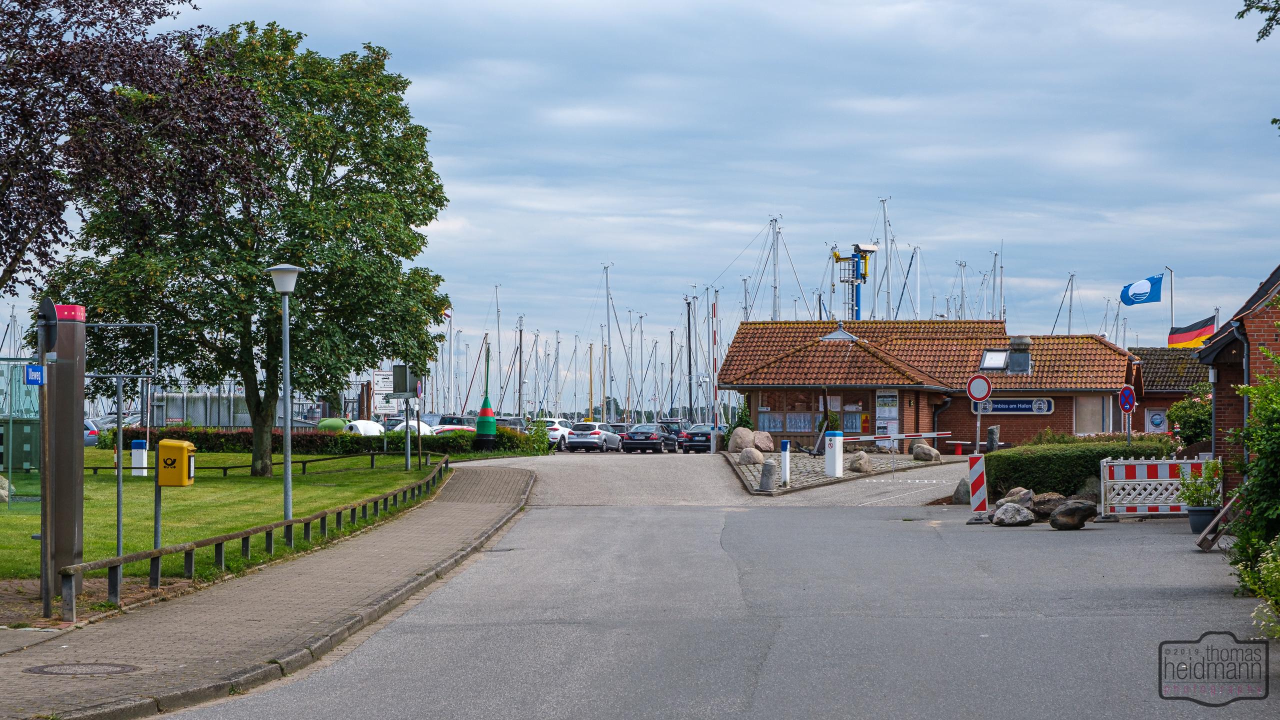 Stellplatz/Hafenmeister-Wärterhäuschen