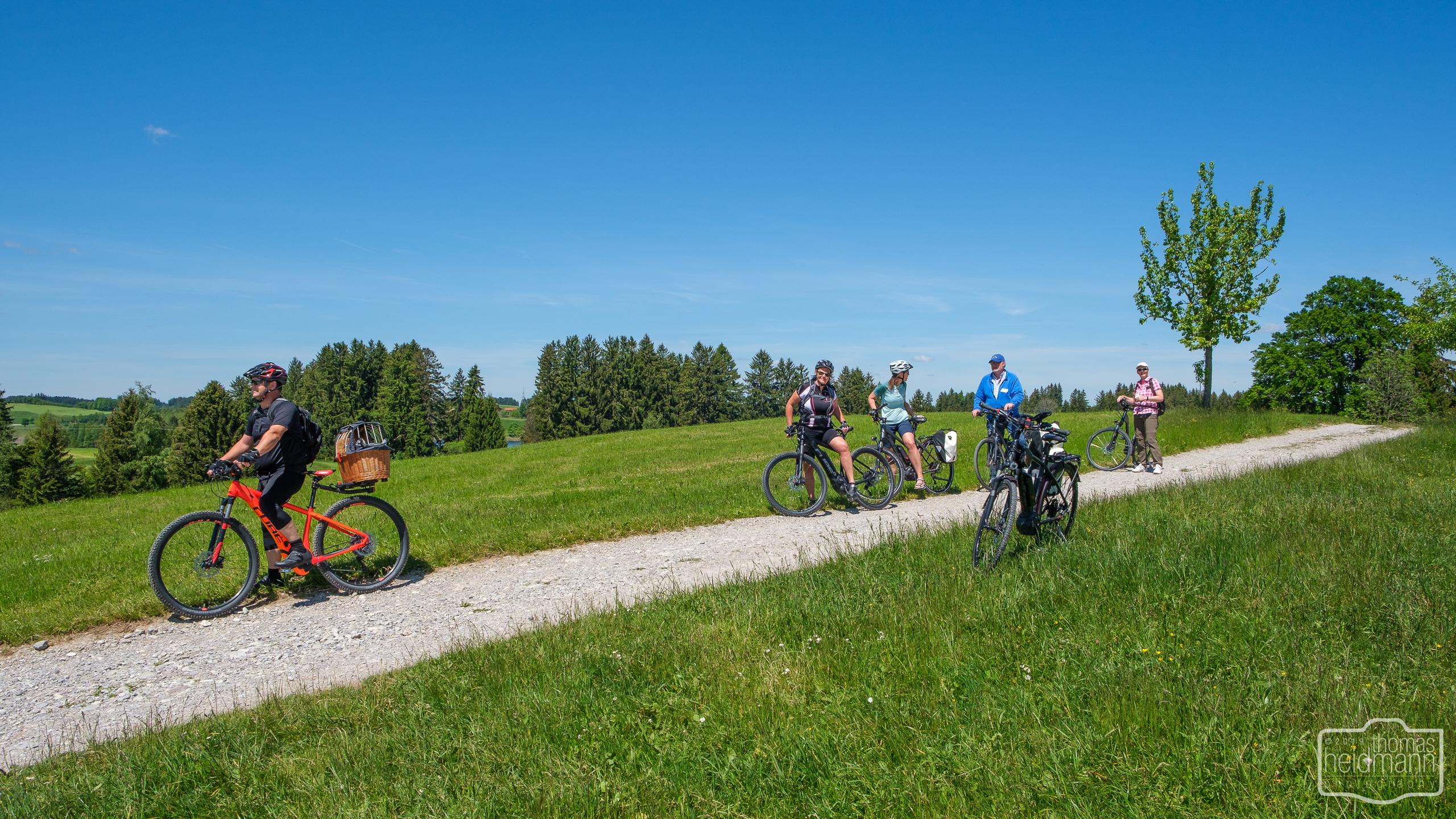 Radtour nach Füssen mit ein paar Dethleffs WoMo Freunden