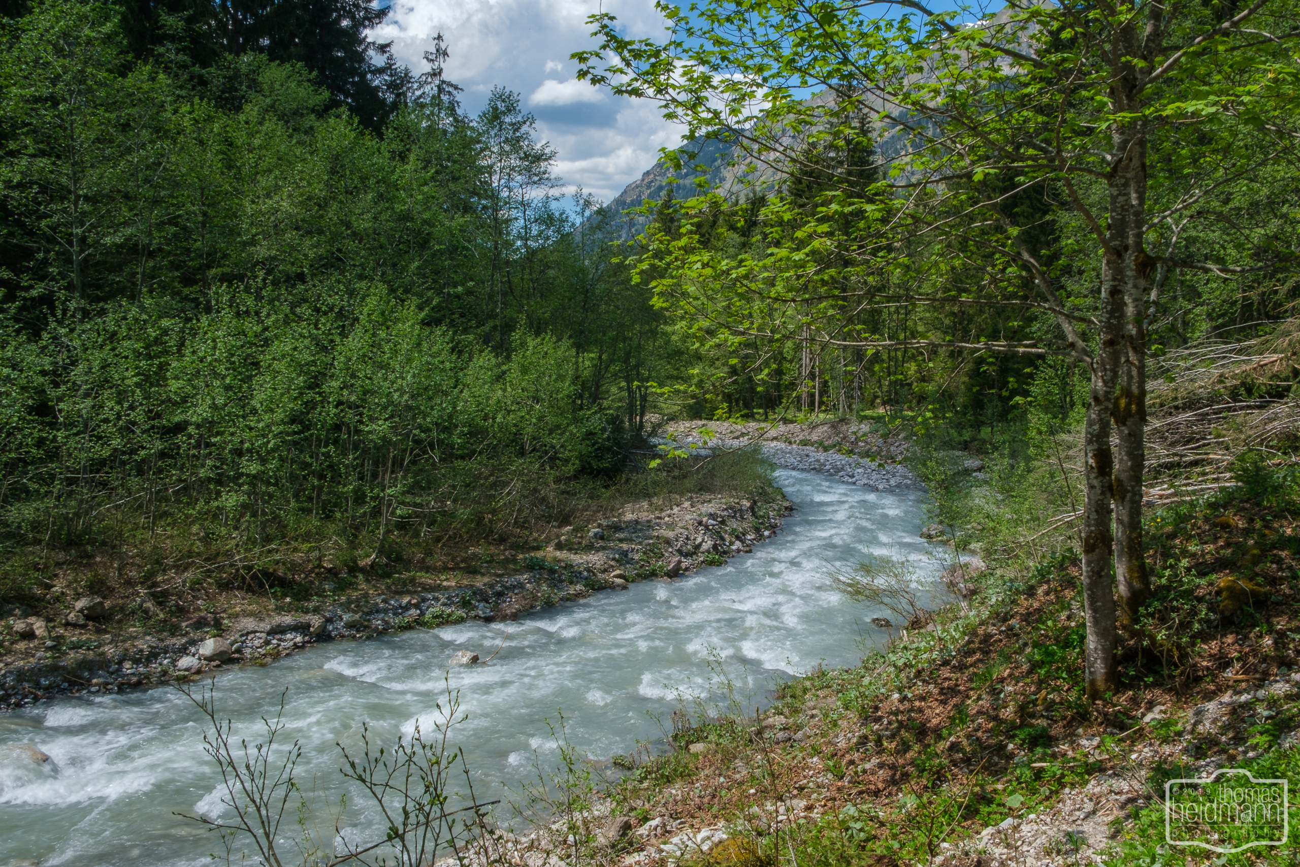 Wanderung durchs Oytal in Oberstdorf