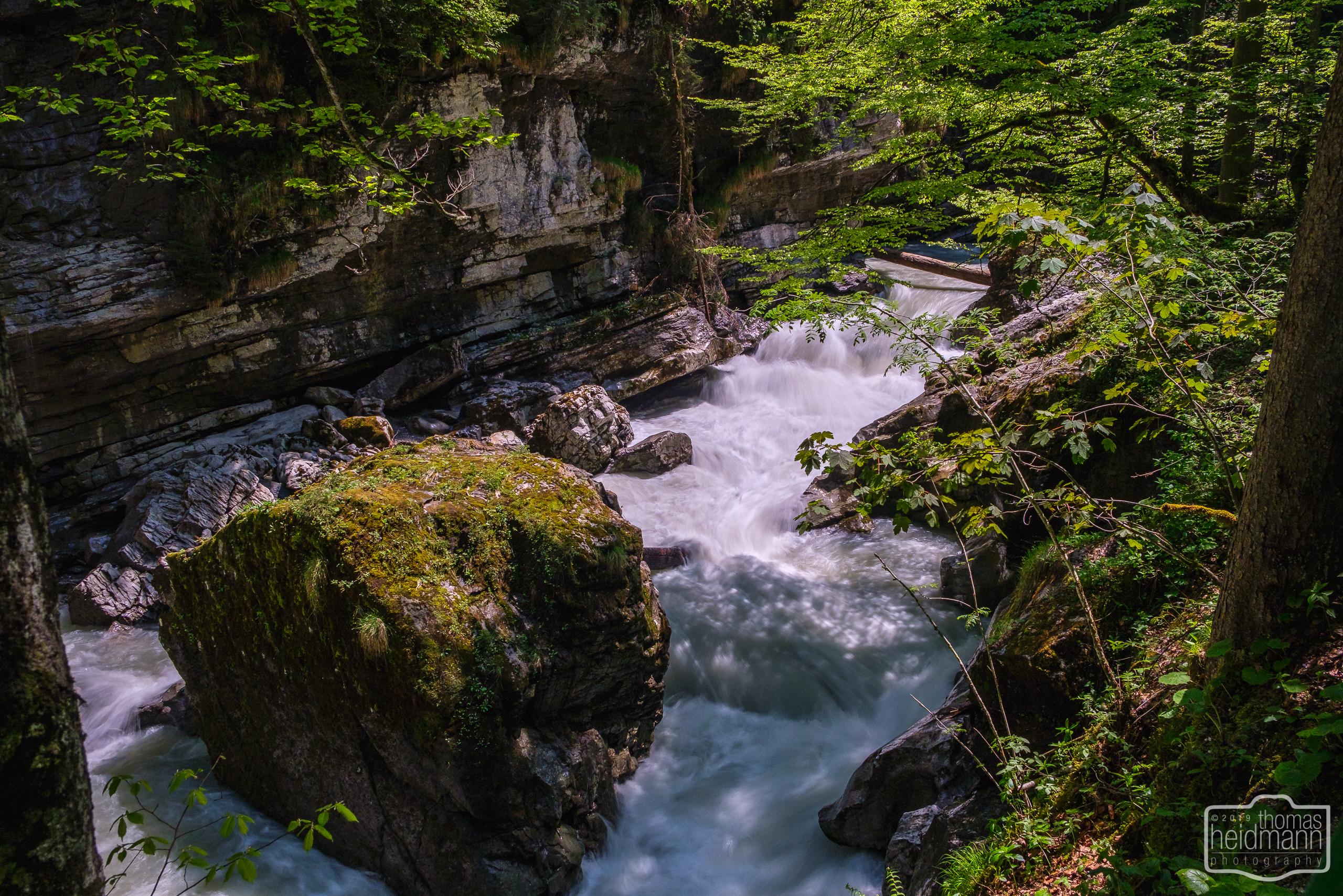 Wanderung durch die Breitachklamm bei Oberstdorf